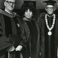 Bishop Pendergrass, Miss Price and Dr. Moore.